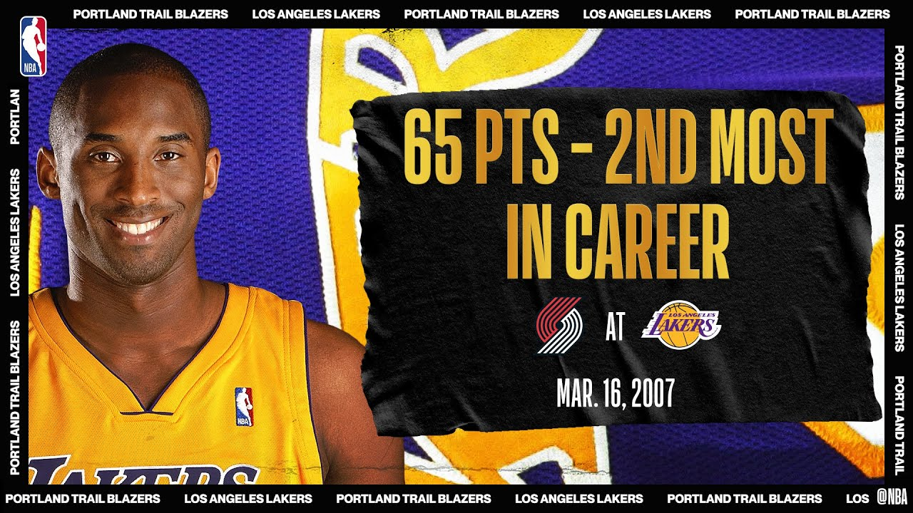 Kobe Bryant Scores 33 Of His 65 PTS In The 4Q Of OT Thriller | #NBATogetherLive Classic Game