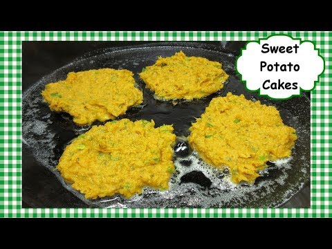 How To Make Sweet Potato Cakes ~ Leftover Mashed Sweet Potatoes Recipe