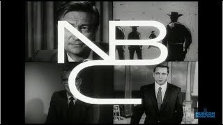 Download 1959 - NBC-TV FILMED PROMO FALL '59 - Outlaws | Michael Shayne | The Price Is Right | Perry Como Video