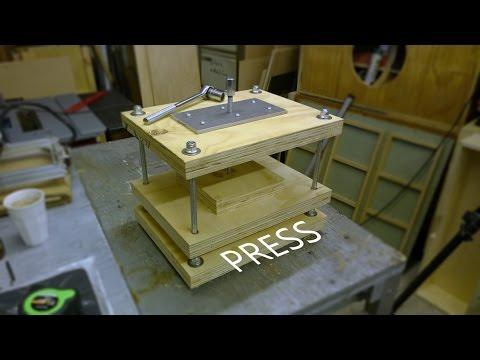 DIY Vertical Press  / Printing / Surface Press