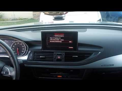 2012 Audi A7 (US) MMI Update by Owner via DVD