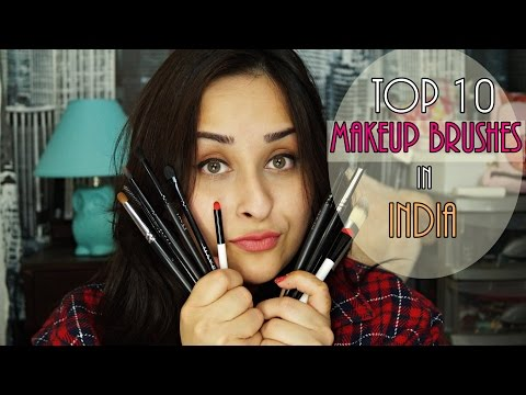 Top 10 Affordable Makeup Brushes in India