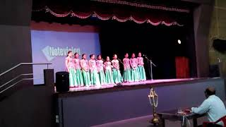 First Prize Winner in Malayalam Group Song.. Nava Nirman Public School Vazhakkala.,,