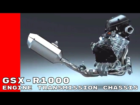 2017 Suzuki GSX R1000 & R Engine, Transmission, Chassis Design