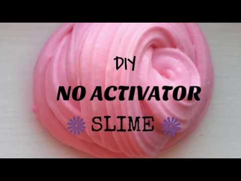 DIY NO ACTIVATOR SLIME!!! No borax, liquid starch, or contact lens solution