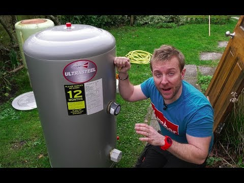UNVENTED DIRECT HOT WATER TANK INSTALL - Kingspan Ultrasteel