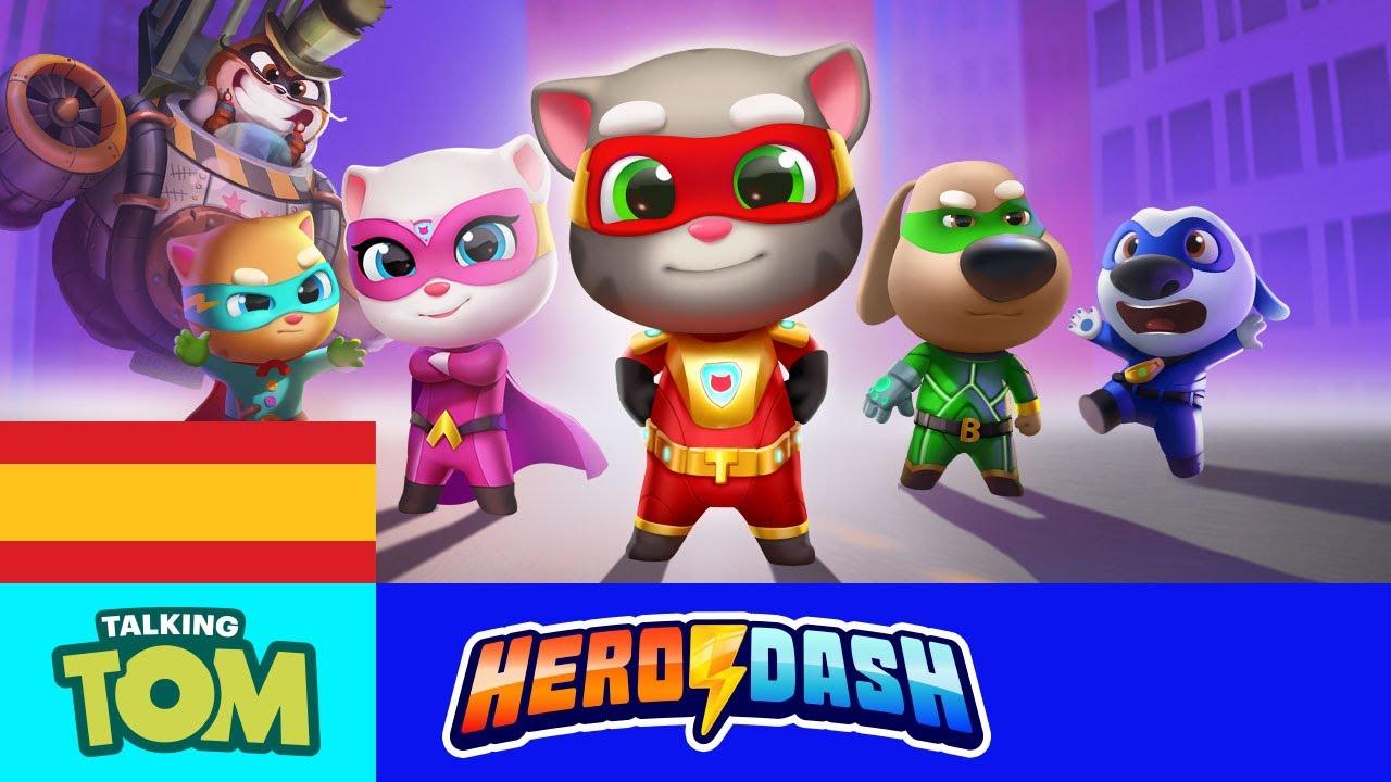 🦝⚡ ¡La invasión de los mapaches en Talking Tom Hero Dash! (TODOS los tráileres)