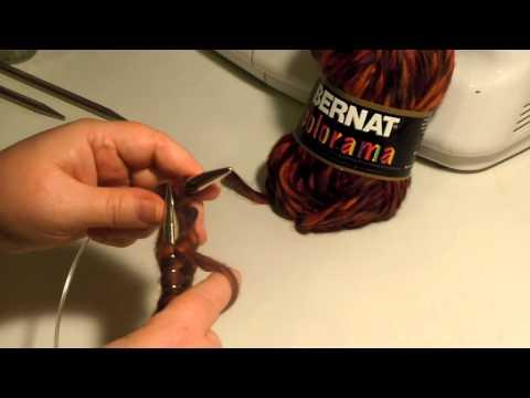 Straight Knitting with Circular Knitting Needles