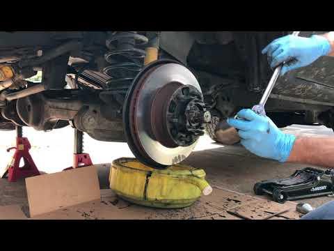 80 Series Wheel Bearing Adjustment