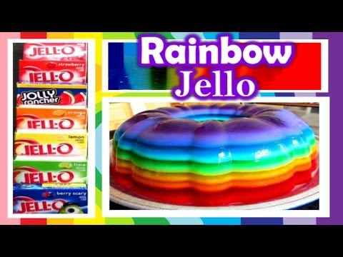 How to Make Rainbow Jello: 2cupsofdelight