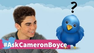You Asked Cameron Boyce Answered Twitterquestions