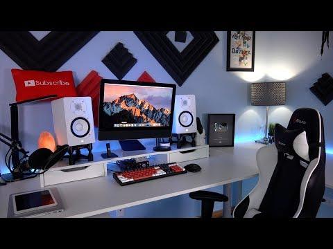 Geek's Ultimate Desk Tour 2017 (JrTech) Technology Desk Setup