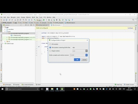 How to do  First Program in Kotlin in Android Studio step by step guide 2017
