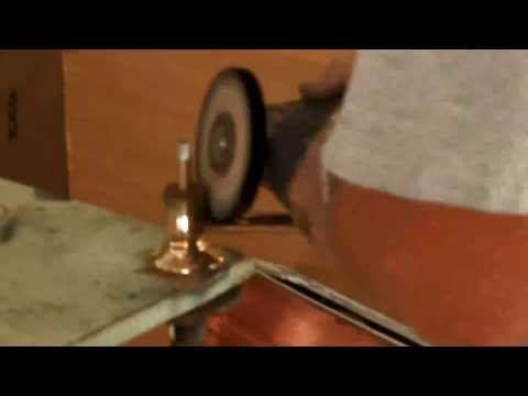 How to Strip and Patina an Old Chrome Faucet to Vintage Brass