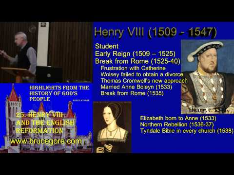 25. Henry VIII and the English Reformation