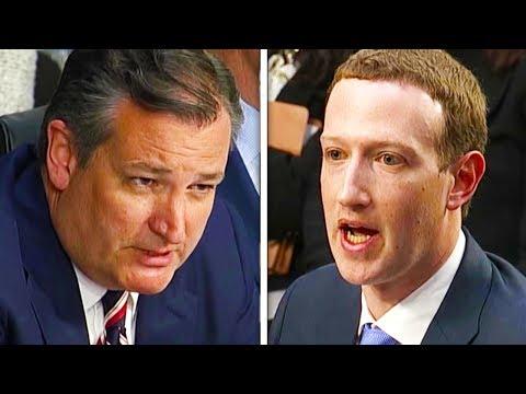 Ted Cruz Grills Zuckerberg (VIDEO)