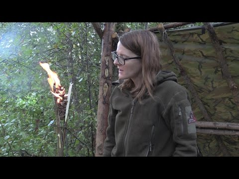 How To Make A Stormproof Torch With A Pine Cone