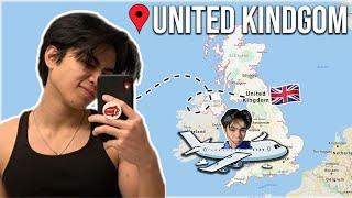 Moving back to England! Vlog 1!