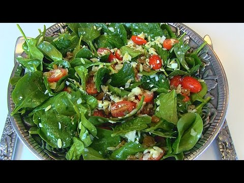 Betty's Spinach-Orzo Salad