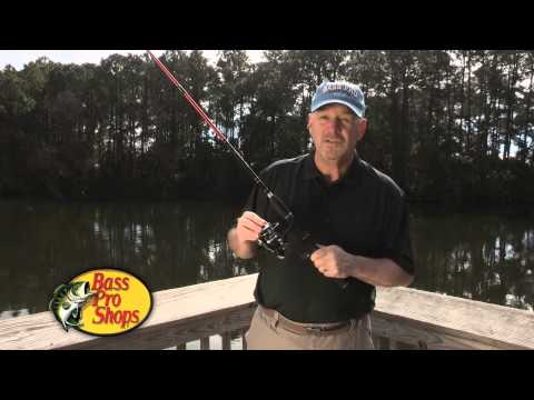 Bass Pro Shops Brawler Spinning Rod and Reel Combo