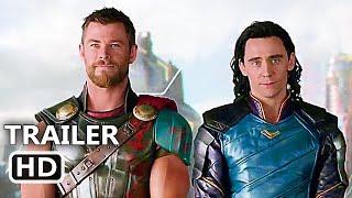 "THOR RAGNAROK ""Get Help"" Funny Movie Clip + Trailer (2017) Thor 3, Superhero Movie HD"