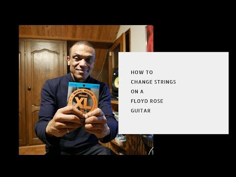 How to change Strings on a Floyd Rose Guitar