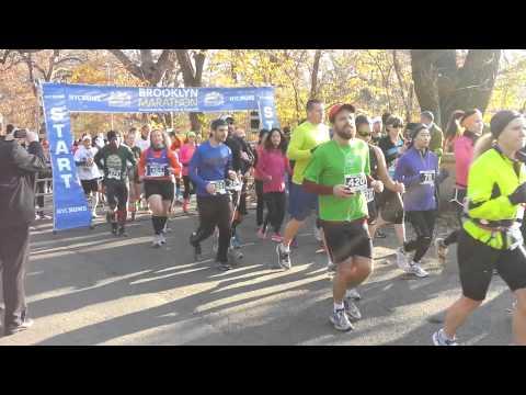 2012 Brooklyn Marathon Start