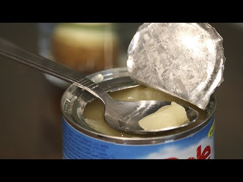 How to Open Canned Food With a Spoon 🥫🥄