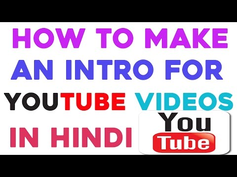 How to Make an Intro for YouTube Videos in Hindi || Technical Naresh