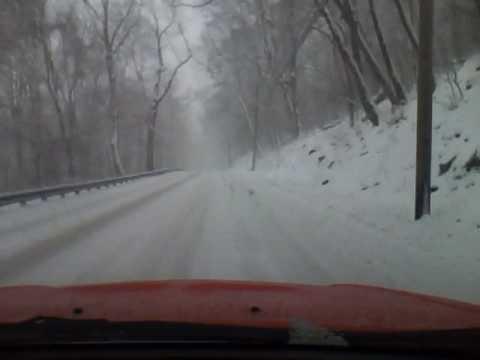 snow trip out - snow tire.mp4