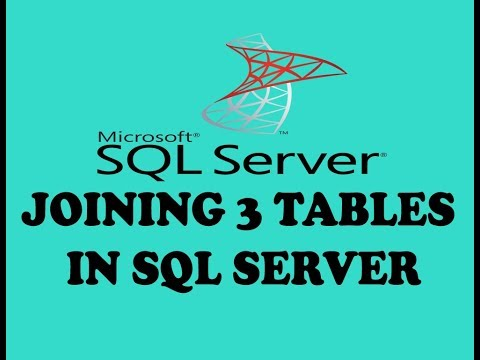 JOINING OF 3 TABLES IN SQL SERVER (URDU / HINDI)