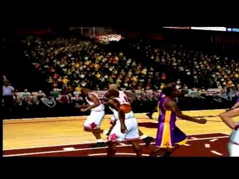 Nba 2k12 Kobe vs Jordan (Kobe owns Jordan) PS2