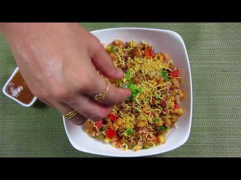 black chana chaat recipe how to make chana chaat at home kala chana chaat recipe sanjeev kapoor kala