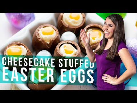 How to Make Cheesecake Filled Easter Eggs | The Stay At Home Chef