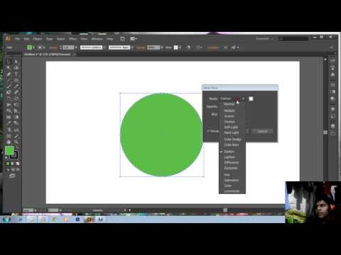 How to do Inner and Outer Glow in Illustrator