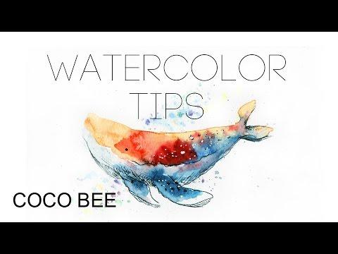 5MIN BEGINNER's Watercolor TIPS