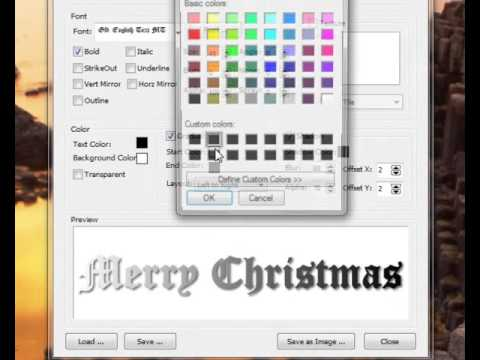 How to use Word Art Generator