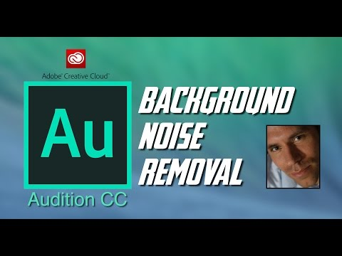 Removing Background Noise From Audio With Adobe Audition CC