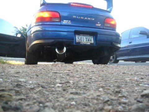 New X02 racing turboback exhaust