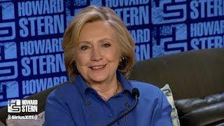 Hillary Clinton on the Howard Stern Show Pt. 3