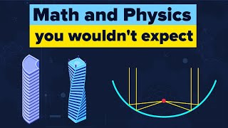 Math and physics can show up when you least expect