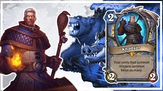 Hearthstone: Khadgar and Call Of The Wild
