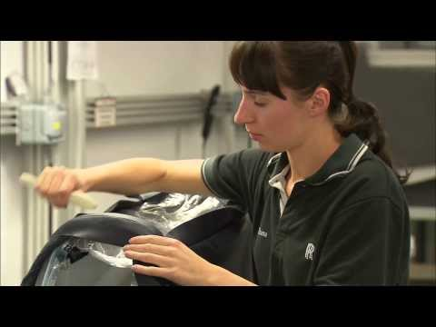 How It's Made: Inside Rolls-Royce leather workshop