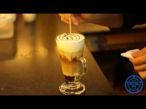 Making Cappuccino and Mochaccino @ Bohemia West Lake Café