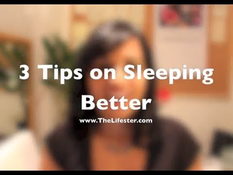 How to sleep better at night easily