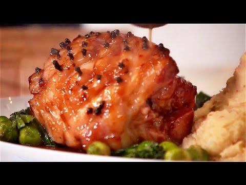 Arthur's Secret Recipe Roast Ham & Chilli Garlic Mash with Lee Kum Kee