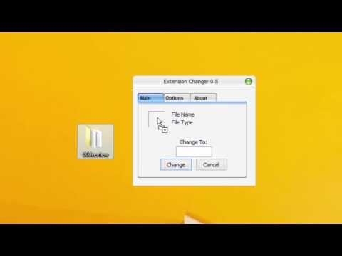How to Batch Change File Extension