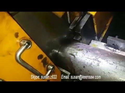 LYJ-120 solid bar cutting machine steel bar cutting machine industrial cut off saw