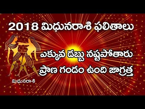 2018 Horoscope for Gemini | Rasi Phalalu | Mithuna Rasi | Science and Astrology | WMB Pictures