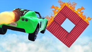 CAN YOU FINISH THIS STUNT? (GTA 5 Funny Moments)